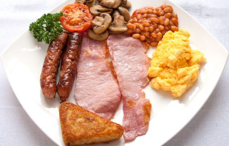 Conchra House Cooked breakfast
